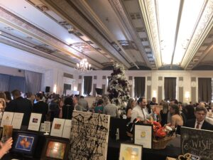 Silent auction, Avamere at Memories in the Making Gala for the Alzheimer's Association