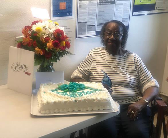Betty Parker, CNA, celebrates retirement from Avamere Heritage Rehabilitation of Tacoma