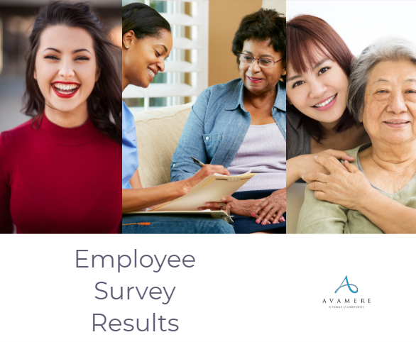 Avamere Employee survey results