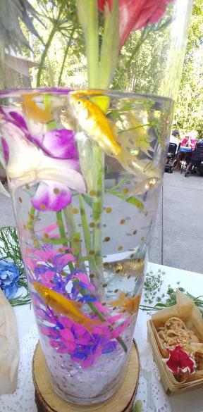 Avamere at Cascadia Village buffet
