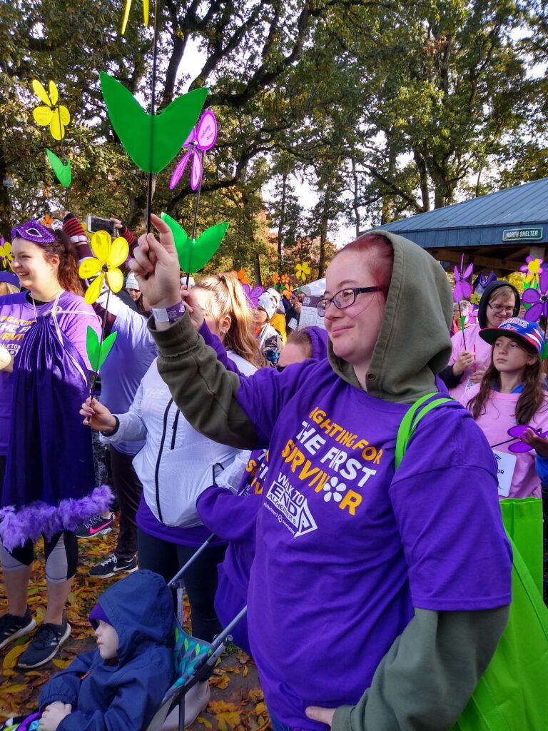 The Arbor at Avamere Court at the Walk to End Alzheimer's