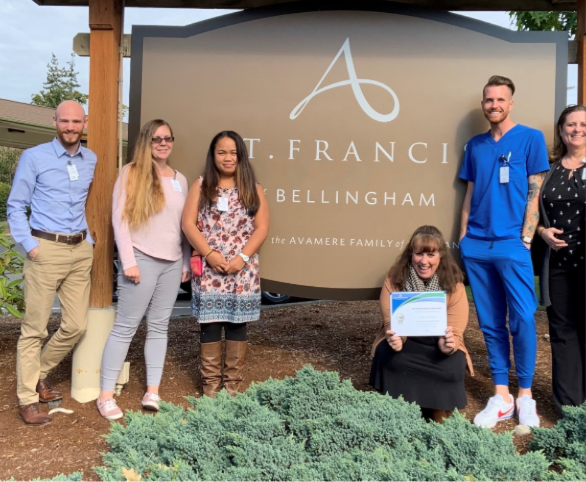Avamere of St. Francis Earns Platinum Level Achievement in Wound Care