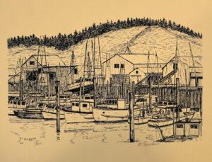 Al Boucher, sketch artist, Avamere at Hillsboro