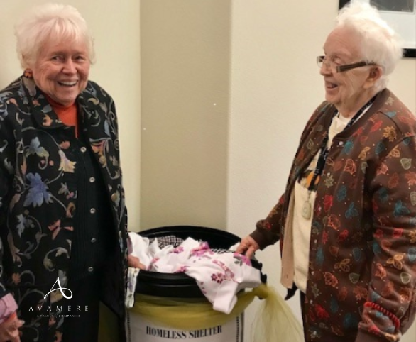 Avamere at Port Townsend Clothing Drive