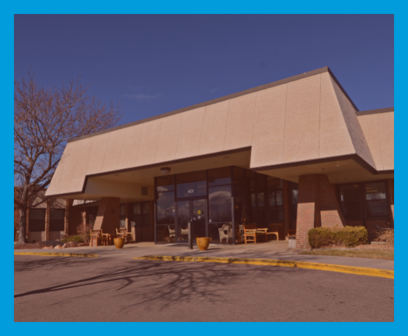 Avamere Transitional Care and Rehabilitation Malley front entrance in Northglenn, Colorado