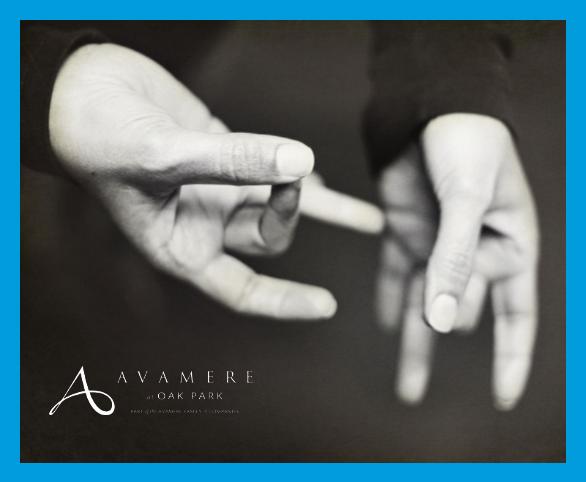 Avamere at Oak Park sign language program