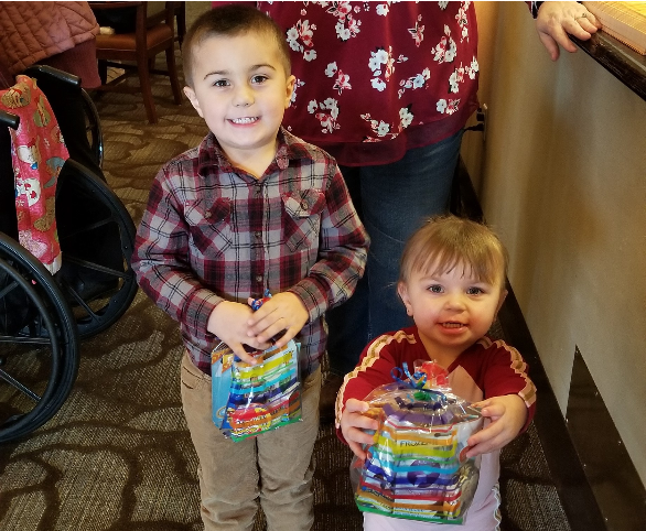 Easton & Emilee at Avamere at Moses Lake Puzzle Party