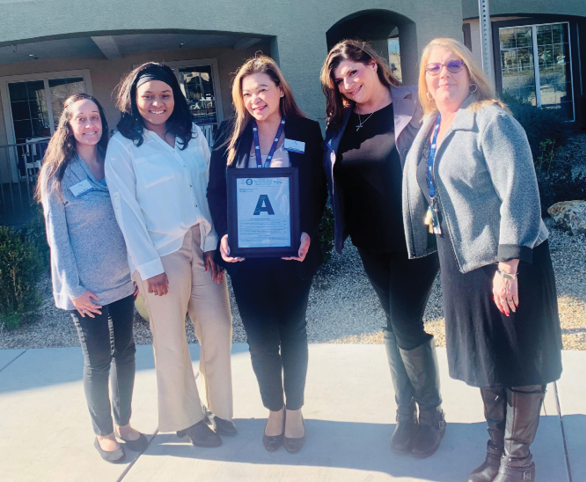 Avamere at Cheyenne, assisted living community, receives A on Nevada state inspection