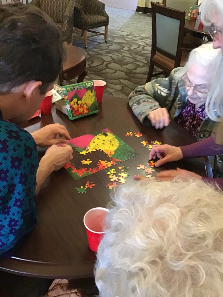 Avamere at Moses Lake Puzzle Party