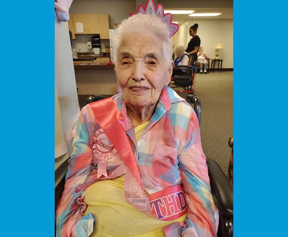 Vanessa Arteman, resident at Avamere at Rio Rancho memory care