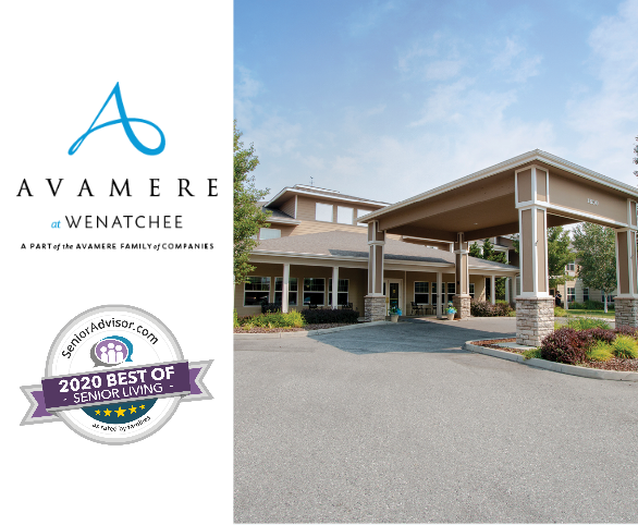 Avamere at Wenatchee earns Best of Assisted Living Award from SeniorAdvisor.com