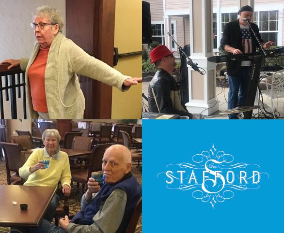 Quarantine Life at The Stafford Retirement Community