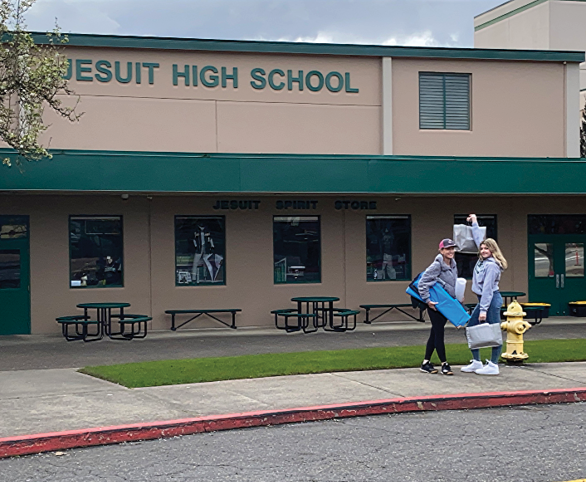 Mask Donation Avamere and Jesuit High School
