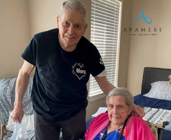 Avamere at Rio Rancho Couple Celebrates 70 Years Together