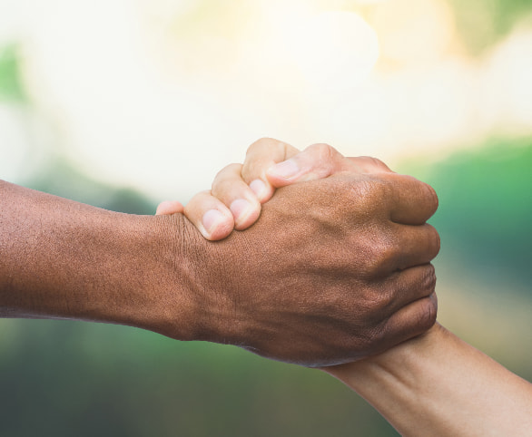 Clasping Hands/Diversity and Inclusion
