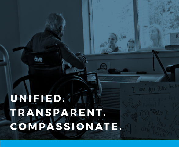 Avamere and COVID-19: Unified. Transparent. Compassionate.