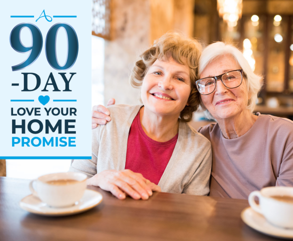 Avamere Living Launches 90-Day Love Your Home Promise