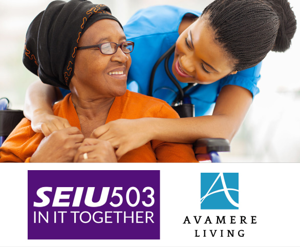 Avamere Living is pending a contract to increase staff wages, expand career opportunities, and more