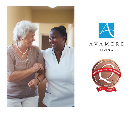 Avamere Living Honored with Bronze Quality Awards