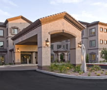 Avamere at Phoenix Assisted Living & Memory Care Front Entrance