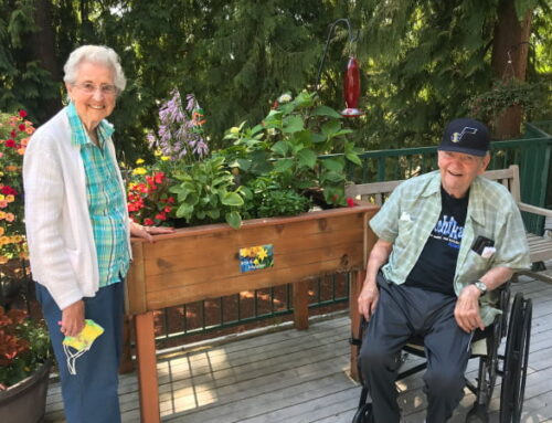 Gardening Club Brings Color to Avamere at Sandy