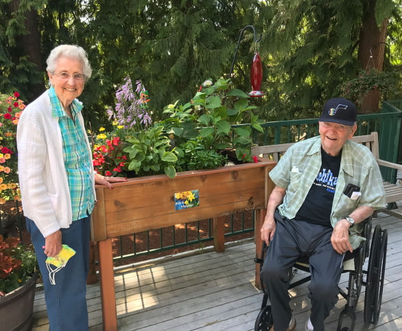 Avabloomers, a gardening club at Avamere at Sandy